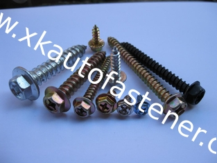 China HEXAGON FLANGE  Self tapping screw supplier